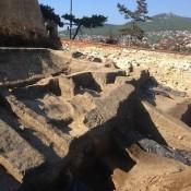 počas archeológického výskumu