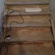 schodiskové stupne vo veži katedrály