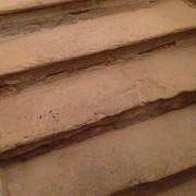 stav schodiska v katedrálnej veži