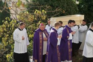 Slovensko sa luci zo zosnulym kardinalom Janom Chryzostomom Korcom v Nitre