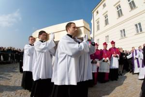 Na Nitrianskom hrade sa rozlucili s kardinalom Janom Chryzostomom Korcom