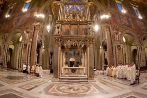 Ad limina 2015: Slavnostna svata omsa v Lateranskej bazilike