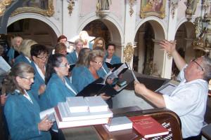 Regensburg. Koncert zboru EMERÁM v chráme sv. Emeráma v Rezne