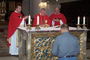 Bohoslužba v chráme sv. Emeráma v Regensburgu 26.8.2017